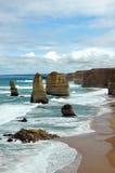 Doze apóstolos, Austrália Imagem de Stock Royalty Free