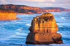 Doze apóstolos, Austrália Imagem de Stock