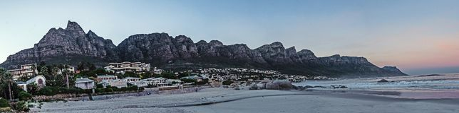Doze apóstolos, Cape Town imagem de stock