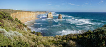 Doze apóstolos - grande estrada do oceano Foto de Stock Royalty Free