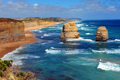 Doze apóstolos, Victoria, Austrália Imagens de Stock