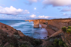 Doze apóstolos - grande estrada Victoria Australia do oceano Fotos de Stock