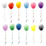 Dozen balloons Stock Photos