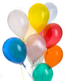 Dozen Balloons Royalty Free Stock Photography