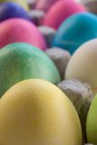 A Dozen Easter Eggs Royalty Free Stock Photography