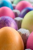 A Dozen Easter Eggs Royalty Free Stock Photos