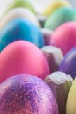 A Dozen Easter Eggs royalty free stock images