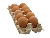 Dozen eggs. Stock Photography