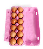 Dozen eggs. Royalty Free Stock Image