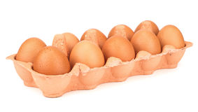 Dozen eggs Royalty Free Stock Image