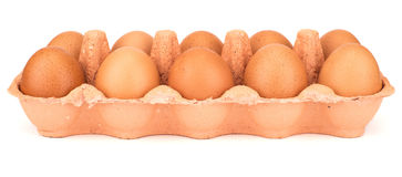 Dozen eggs Stock Image