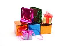 Dozen en pakketten Stock Foto
