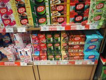 Dozen van KitKat Stock Fotografie