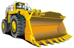 Dozer vector illustration