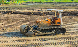 Dozer in action Royalty Free Stock Images