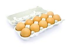 Dozijn eieren royalty-vrije stock fotografie