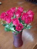Dozijn rozen voor mijn Valentine royalty-vrije stock afbeelding