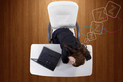 Dozing Off Stock Images