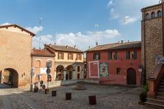 Dozza. Émilie-Romagne. L'Italie. Photo libre de droits