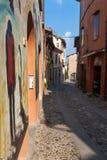 Dozza Émilie-Romagne l'Italie Photos libres de droits