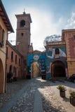 Dozza Émilie-Romagne l'Italie Photo stock