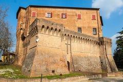 Dozza. Emilia-Romagna. Italien. royaltyfri foto