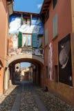Dozza Emilia-Romagna italy Fotografering för Bildbyråer
