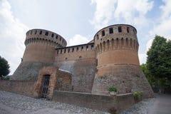Dozza kasztel, Emilia Romagna, Włochy, Czerwiec 2017 Obraz Royalty Free