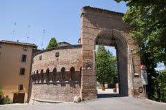Dozza. L'Emilia Romagna. L'Italia. Fotografia Stock Libera da Diritti