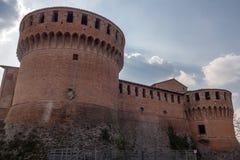 Dozza. L'Emilia Romagna. L'Italia. Immagine Stock Libera da Diritti