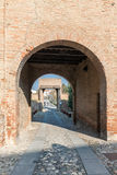 Dozza L'Emilia Romagna L'Italia Fotografia Stock