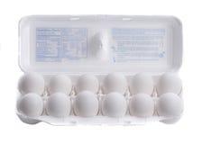 Dozzina delle uova Immagine Stock Libera da Diritti