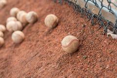 Dozzine di baseball immagine stock