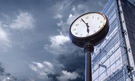 Dépassement de l'image de concept de temps Photo stock