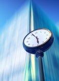 Dépassement du temps Photo stock
