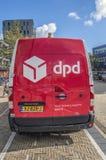 DPD Company Van At Diemen The Netherlands 2018 imagen de archivo libre de regalías