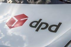 DPD Company Van At Diemen The Netherlands 2018 fotografía de archivo libre de regalías