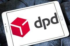 Dpd, logo dynamique de distribution de colis images libres de droits