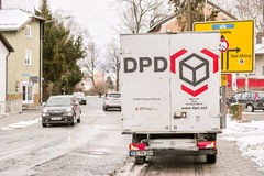 DPD truck Stock Photos