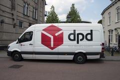 DPD Van At Weesp οι Κάτω Χώρες Στοκ εικόνα με δικαίωμα ελεύθερης χρήσης