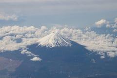 100 300dpi空中摄影机以后的d helens mt st蒸汽出气孔视图华盛顿 富士在日本 库存图片