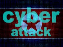 Dprk Cyber Hackers From North Korea 3d Illustration stock photography