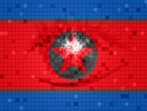 Dprk Cyber Hackers From North Koreans 3d Illustration royalty free illustration