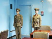 Dprk-Soldaten im MAC Lizenzfreie Stockfotos