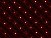 Drähte mit Leuchte Lizenzfreies Stockbild