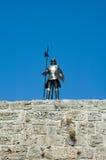 Dräkt av armoren på Rhodes Arkivfoton