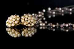 dräktjewelery Royaltyfri Bild