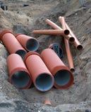 dräneringrør Royaltyfria Bilder