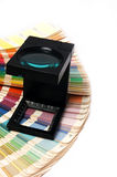 Drängen Sie Farbenmanagement Stockfoto