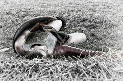 Dräpad gladiator Arkivbilder